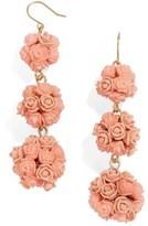 BaubleBar Women's Floral Crispin Earrings