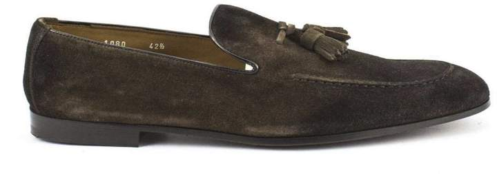 Doucal's Soft Leather Loafer