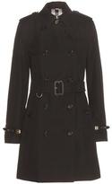 Burberry The Kensington Cotton Trench Coat