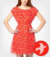 Tulle Shoulder Button Birdie Dress $39.99