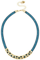 Betsey Johnson Confetti Multi Cut Out Star Necklace