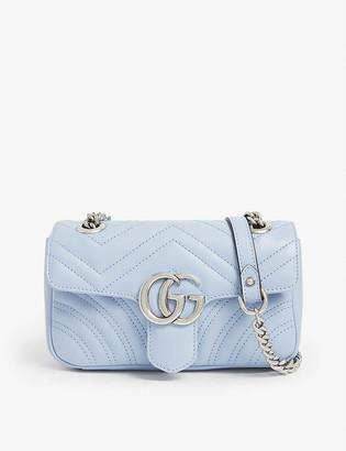 Gucci Marmont mini leather shoulder bag