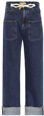 J.W.Anderson Exclusive to Mytheresa Toggle wide-leg jeans