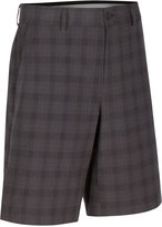 Greg Norman for Tasso Elba Men's Classic-Fit Plaid Performance Shorts, Only at Macy's
