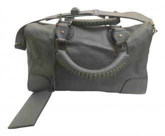 Balenciaga Grey Leather Handbags