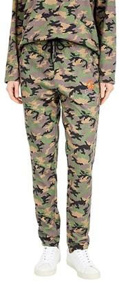 Nicole Miller Camo Sweatpants (Blush Camo) Women's Casual Pants