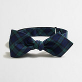 J.Crew Factory Black Watch bow tie