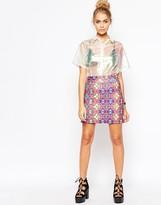 Jaded London Pink Festival Skirt
