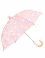 Hatley Metallic Hearts Umbrella