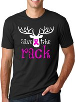 Crazy Dog T-shirts Crazy Dog Tshirts Save The Rack T Shirt Cool Breast Cancer Awareness Month Tee