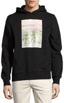 Ovadia & Sons Appalachian Winter Cotton Hoodie, Black
