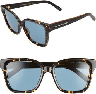 Marc Jacobs 53mm Square Sunglasses