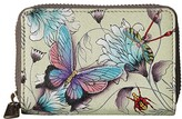 Anuschka Credit And Business Card Holder 1110 (Wondrous Wings) Coin Purse