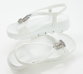Alegria Embellished T-Strap Sandals - Roz