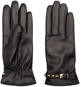 Dalgado Handmade Nappa Leather Gloves Brown Letitzia