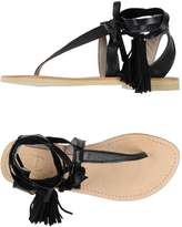 Cali CALI' Toe strap sandals - Item 11410113