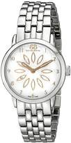 88 Rue du Rhone Women's 87WA140007 Stainless Steel Watch with Diamond Accent