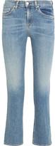 Rag & Bone Mid-rise Straight-leg Jeans - Light denim