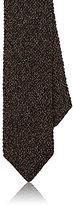 Ermenegildo Zegna Men's Knit Necktie-BROWN