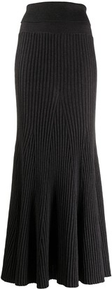 Kenzo Ribbed Wool Skirt