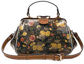 Patricia Nash Denim Fields Collection Gracchi Floral Satchel