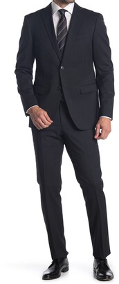 John Varvatos Collection Nested Wool Blend Suit