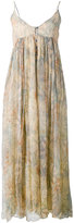 Mes Demoiselles Paloma palm print dress - women - Cotton/Viscose - 36