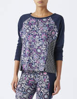 Monsoon Caroline Printed Long Sleeve Top