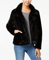 Collection B Faux-Fur Coat