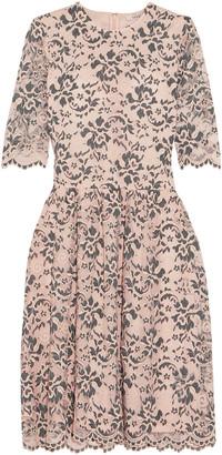 Ganni Stretch-lace Dress