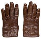 Chanel CC Stitch Gloves