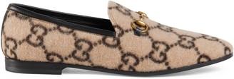 Gucci Women's Jordaan GG wool loafer