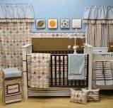 Bacati Mod Sports Blue 6pc Crib Set