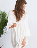 aerie Scoop Back Peasant Dress