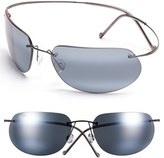 Maui Jim Men's 'Ka'Anapali - Polarizedplus2' 65Mm Sunglasses - Gunmetal