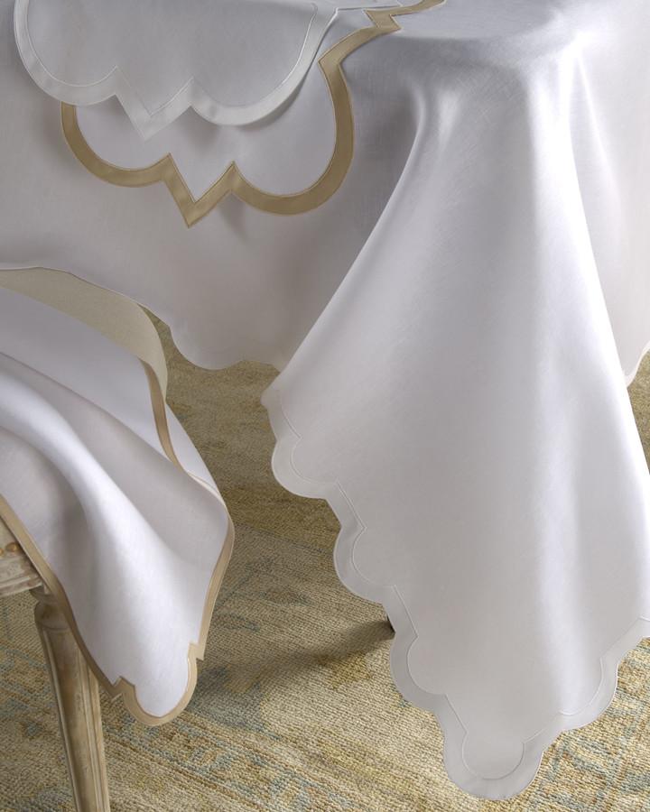 """Matouk Mirasol Oblong Tablecloth, 70"""" x 108"""""""