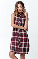 LIRA Keep It Real Plaid Dress