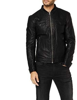 Benetton Men's Basico 1 Man Coat,(Size: EL)