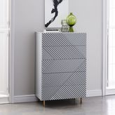 west elm Rosanna Ceravolo 5-Drawer Dresser - Mist Gray