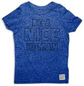 Original Retro Brand Boys' Be a Nice Human Tee - Little Kid