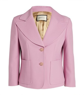 Gucci Wide-Collar Blazer