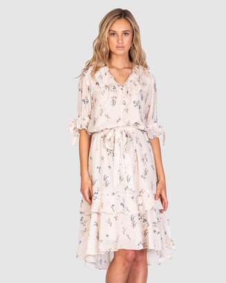 Three of Something Golden State Malibu Dress