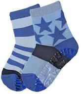 Sterntaler Baby Boys' Fli Air DP Sterne/Ringel Calf Socks,5