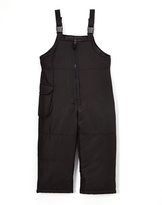 London Fog Black Pocket Snow Suit - Toddler & Girls