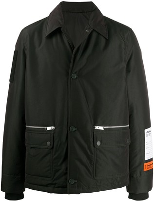 Heron Preston Long-Sleeve Rain Jacket