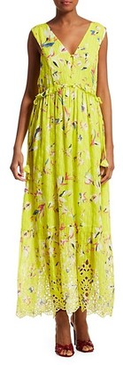 Sub Urban Riot Catalina Sleeveless Print Maxi Dress