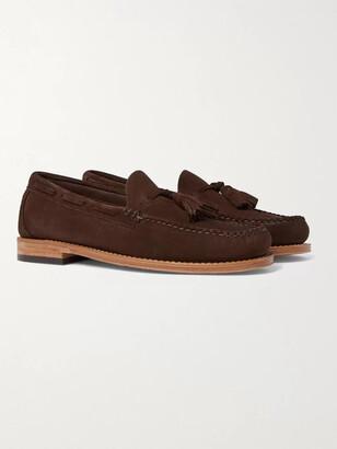 G.H. Bass & Co. Weejuns Larkin Suede Tasselled Loafers