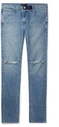 RtA Skinny-Fit Distressed Denim Jeans