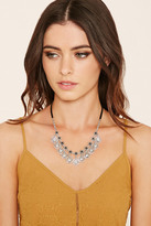 Forever 21 FOREVER 21+ Burnished Heart Charm Necklace