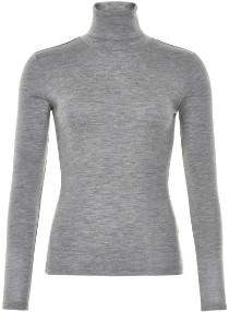 Gestuz Grey Wool Wilma GZ Rollneck - S - Grey
